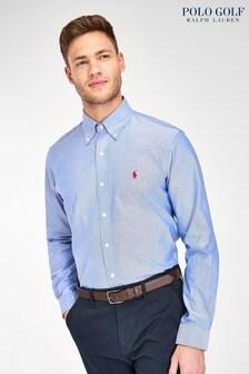 Polo Golf by Ralph Lauren Blue Oxford Shirt