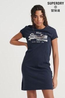 Superdry Vintage Logo T-Shirt Dress