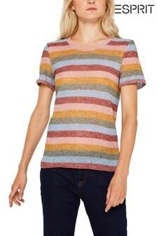 Esprit Multicolor Striped T-Shirt