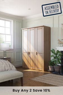 Elmsmore Medium Hinged Wardrobe