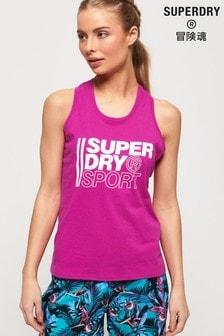 Superdry Core Sport Graphic Vest Top