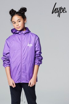 Hype. Purple Fish Tail Parka