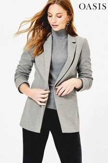 Oasis Grey Bettie Blazer