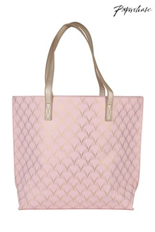 Paperchase Gold Art Deco Shopping Bag