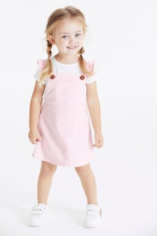Frill Pinafore (3mths-7yrs)