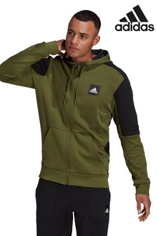 adidas Future Icons Stadium Zip Through Hoodie