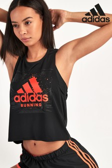 adidas Running Fast Cropped T-Shirt