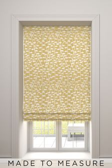 Coraline Sunflower Yellow Made To Measure Roman Blind