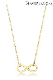 Beaverbrooks 9ct Infinity Necklace