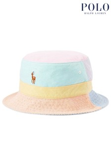 Polo Ralph Lauren Colourblock Logo Bucket Hat
