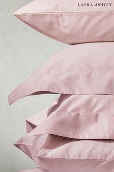 Set of 2 Blush 200 Thread Count Cotton Pillowcases