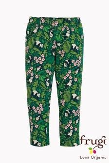 Frugi Organic Soft and Comfy Panda Print Trousers