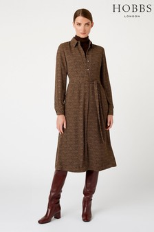 Hobbs Brown Mimi Dress
