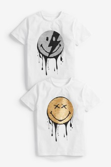 Drippy Smile T-Shirt (3-16yrs)