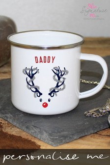 Personalised Daddy Deer Mug by Signature Gifts