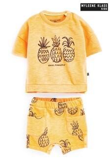 Myleene Klass Baby Sweat Top And Shorts Set
