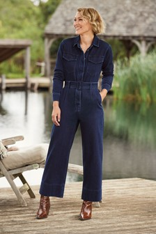 Emma Willis Belted Boiler Jumpsuit