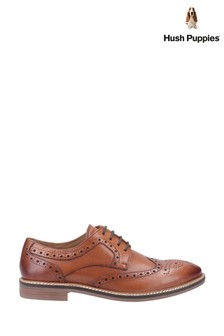 Hush Puppies Brown Bryson Shoes