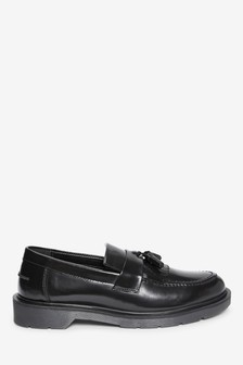 Hi-Shine Fringe Tassel Loafers