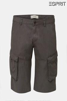 Esprit Grey Cargo Shorts