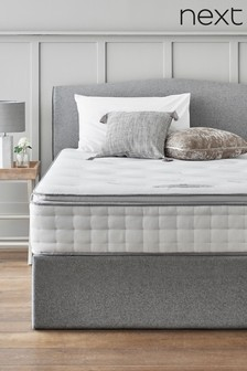 1500 Pocket Sprung With Memory Foam Pillowtop Firm Mattress