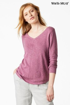 White Stuff Purple Florence Jumper
