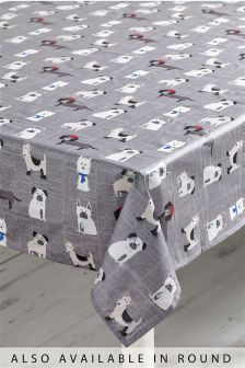 Pugs And Co PVC Tablecloth