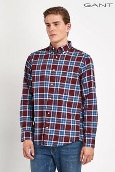 GANT Winter Twill Plaid Regular Shirt