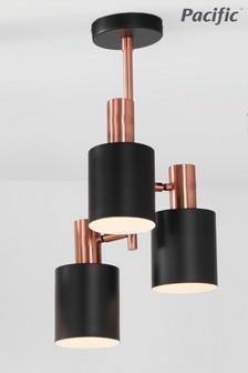 Biba 3 Light Electrified Pendant by Pacific