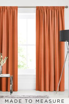 Soho Paprika Orange Made To Measure Curtains