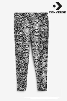Converse Snake Print Older Girl Leggings