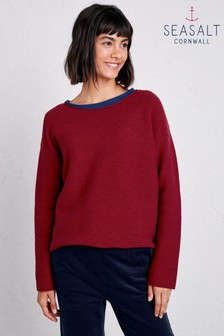 Seasalt Red Fruity Jumper