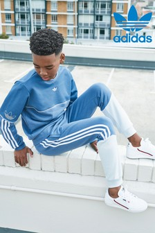 adidas Originals Blue/Grey Outline Joggers