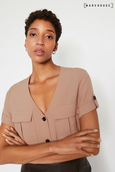 Warehouse Natural Utility Pocket Front Top