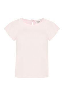 Carrement Beau Girls Pink Cotton T-Shirt
