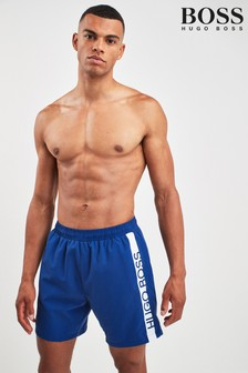 BOSS Blue Dolphin Swim Shorts