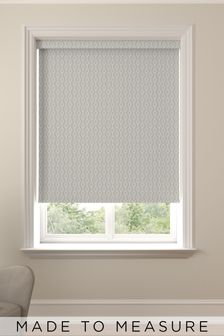 Flynn Silver Grey Made To Measure Roller Blind