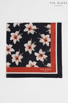 Ted Baker Floripo Printed Floral Pocket Square