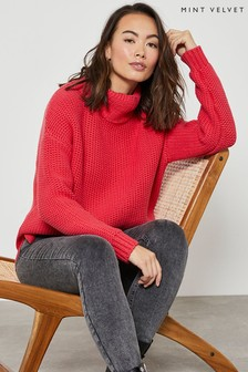 Mint Velvet Watermelon Chunky Knit Jumper