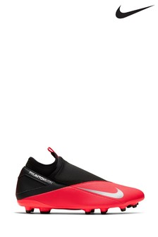 Nike Red Phantom Vision 2 Club Firm Ground Football Boots