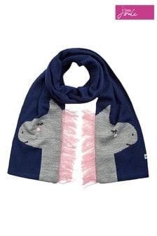 Объемный шарф с мордочкой Joules