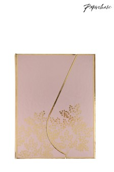 Paperchase A5 Pink Fern Magnetic Notebook