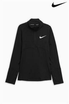 Топ с молнией до середины груди Nike Element