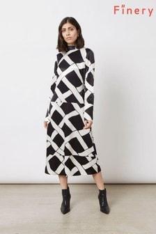 Finery London Black Arden Dress