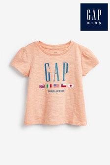 Gap Peach Graphic T-Shirt