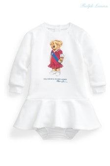 Ralph Lauren White Bear Dress