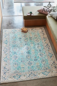 Syon Azure Rug by Asiatic Rugs