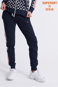 Superdry Modern Coral Label Sport Joggers