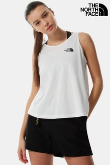 The North Face® White Simple Dome Vest