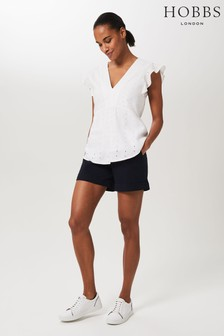 Hobbs Blue Chessie Shorts